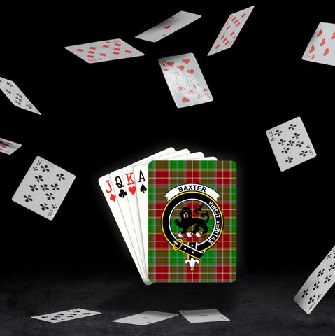 ScottishShop Baxter Playing Card - Tartan Playing Card Royal Style