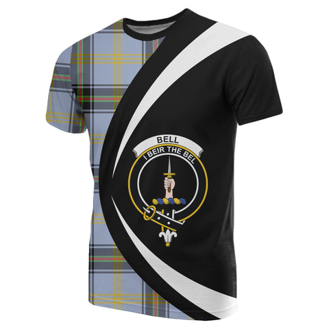 Image of Bell of the Borders Tartan T-shirt Circle