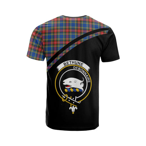 Bethune Tartan All Over T-Shirt - Curve Style