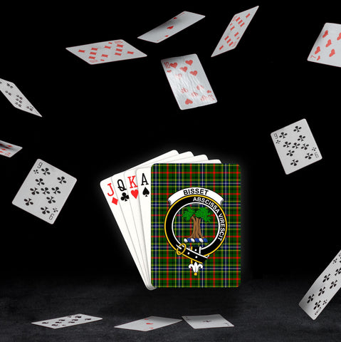 ScottishShop Bisset Playing Card - Tartan Playing Card Royal Style