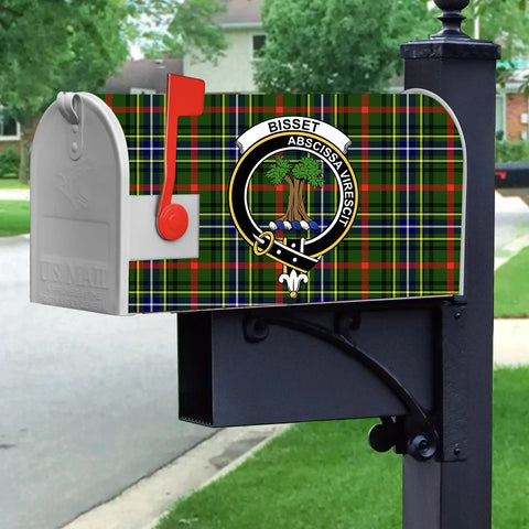 ScottishShop Mailbox Cover - Bisset Tartan Mailbox (Custom)