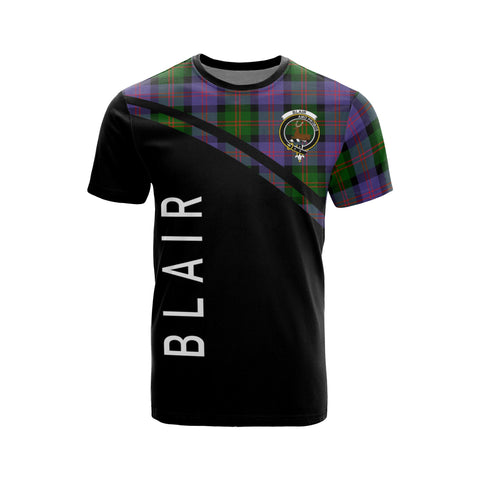 Blair Tartan All Over T-Shirt - Curve Style