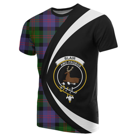 Blair Modern Tartan T-shirt Circle