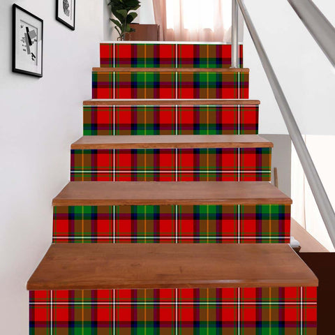 Scottishshop Tartan Stair Stickers - Boyd Stair Stickers - NAC