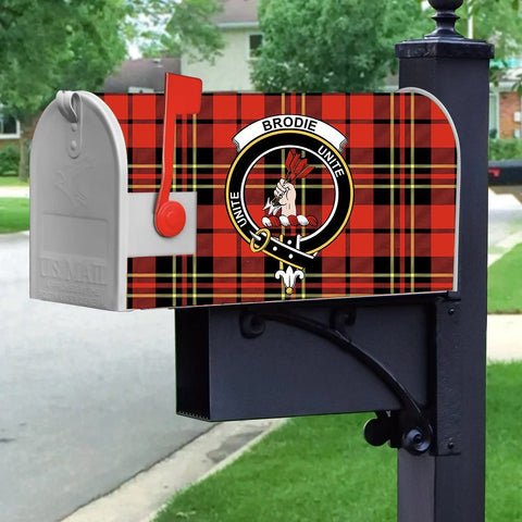 ScottishShop Mailbox Cover - Brodie Tartan Mailbox (Custom)