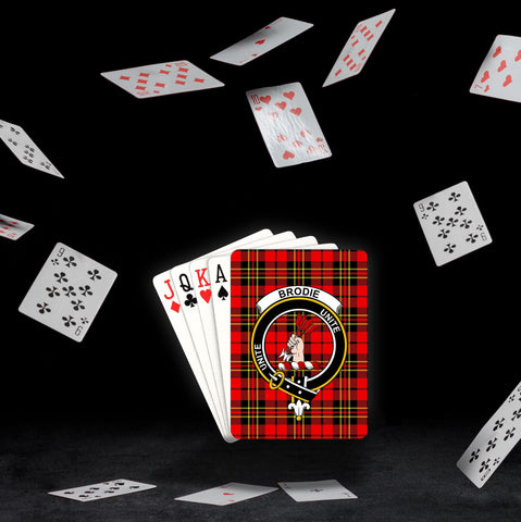 ScottishShop Brodie Playing Card - Tartan Playing Card Royal Style