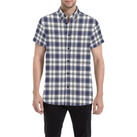 Tartan Shirt - Hannay Modern | Exclusive Over 500 Tartans | Special Custom Design