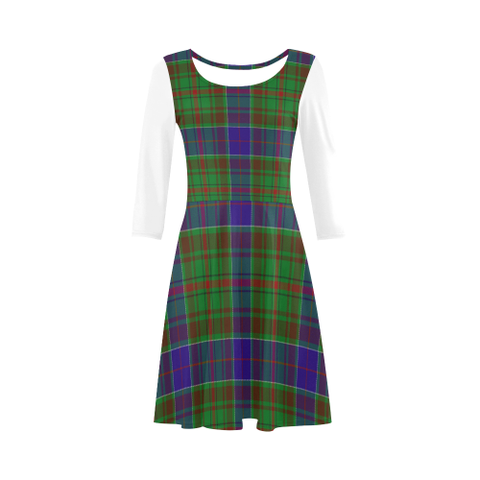 Adam Tartan 3/4 Sleeve Sundress | Exclusive Over 500 Clans
