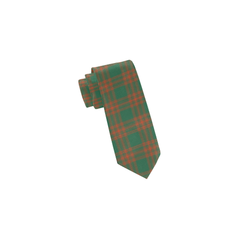 Tartan Necktie - Menzies Green Ancient Tie