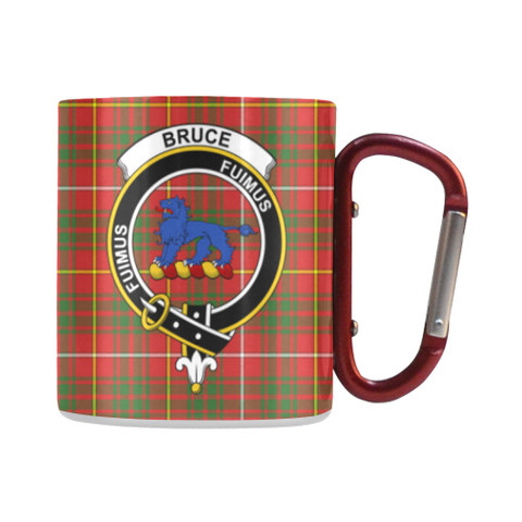 Bruce Modern  Tartan Mug Classic Insulated - Clan Badge