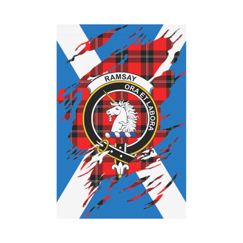 Garden Flag | Tartan Ramsay Lives In Me Flag | 2 Sizes