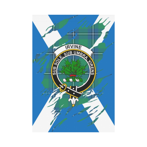 Garden Flag | Tartan Irvine Lives In Me Flag | 2 Sizes