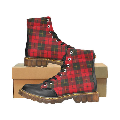 Image of Tartan Apache Boot - Wallace Weathered | Footwear | Over 500 Tartans