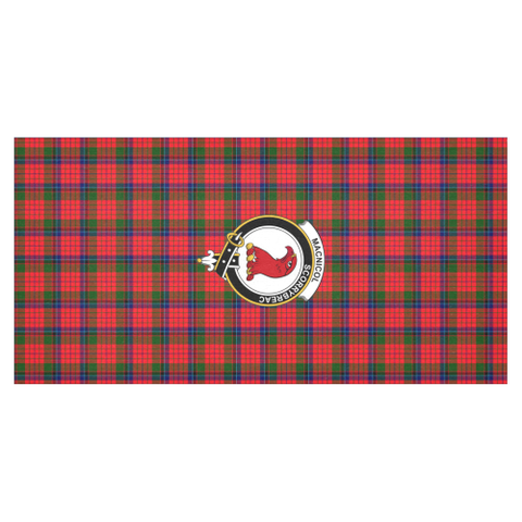 MacNicol (of Scorrybreac) Crest Tartan Tablecloth | Home Decor