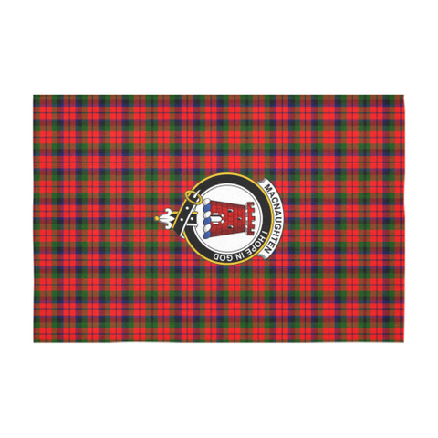 MacNaughten Crest Tartan Tablecloth | Home Decor