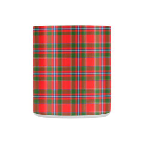ScottishShop Insulated Mug - Butter Tartan Insulated Mug - Clan Badge