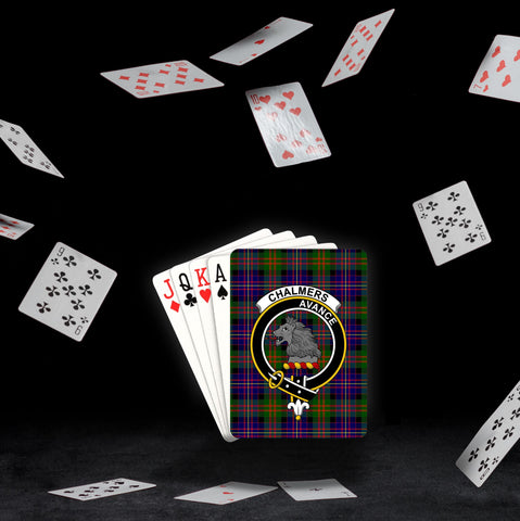 ScottishShop Chalmers Playing Card - Tartan Playing Card Royal Style