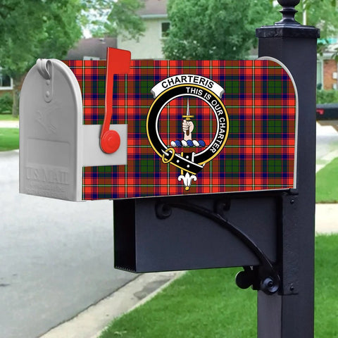 ScottishShop Mailbox Cover - Charteris (Earl of Wemyss) Tartan Mailbox (Custom)