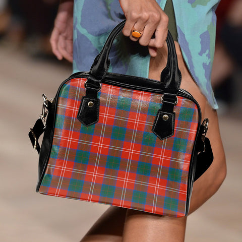 Chisholm Ancient Tartan Shoulder Handbag for Women | Hot Sale | Scottish Clans