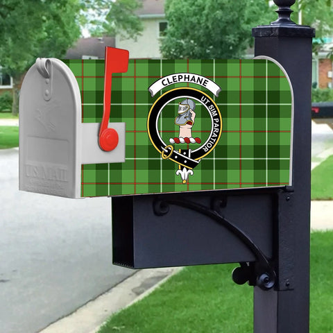 Image of ScottishShop Mailbox Cover - Clephane (or Clephan) Tartan Mailbox (Custom)