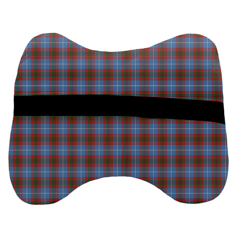 Tartan Head Cushion - Congilton Head Cushion With Clan Crest