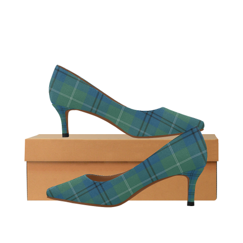 Oliphant Ancient Tartan High Heels, Oliphant Ancient Tartan Low Heels