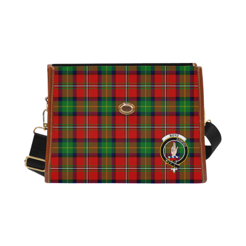 Boyd Clan Tartan Canvas Bag | Special Custom Design