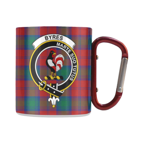Byres  Tartan Mug Classic Insulated - Clan Badge