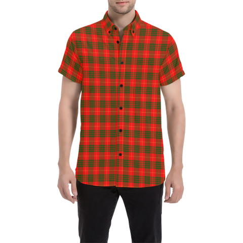Tartan Shirt - Cameron Modern | Exclusive Over 500 Tartans | Special Custom Design