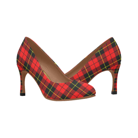 Image of Wallace Hunting - Red Plaid Heels