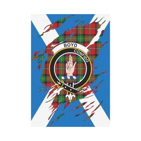 ScottishShop Garden Flag - Tartan Boyd Lives In Me Flag