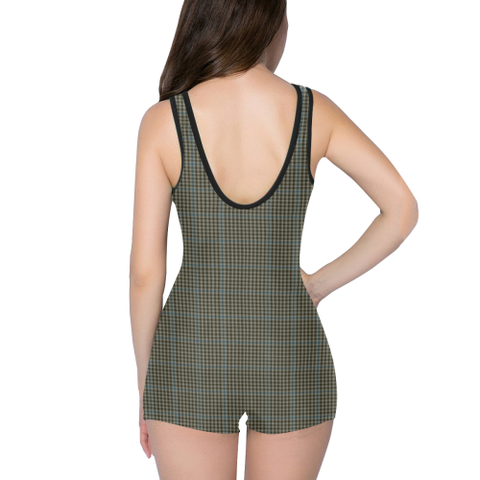 Image of Tartan Swimwear - Haig Check - Classic Swimsuit | Special Custom Designs