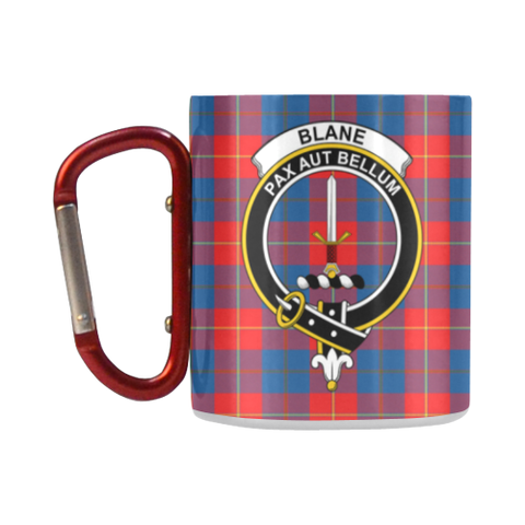 ScottishShop Insulated Mug - Blane Tartan Insulated Mug - Clan Badge