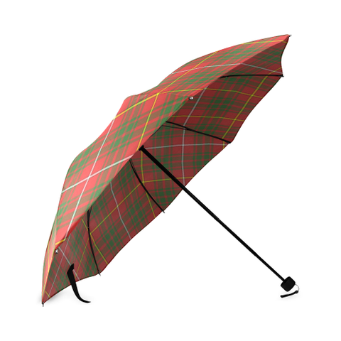 Image of Carruthers Modern Crest Tartan Umbrella