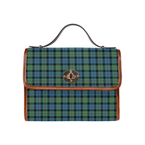 MacEwen Ancient Tartan Canvas Bag | Special Custom Design