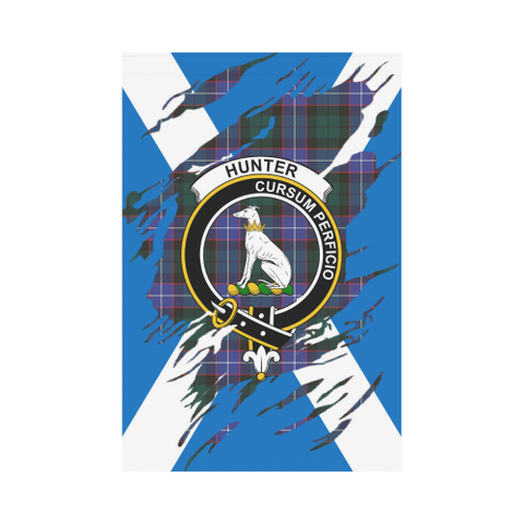 ScottishShop Garden Flag - Tartan Hunter Lives In Me Flag