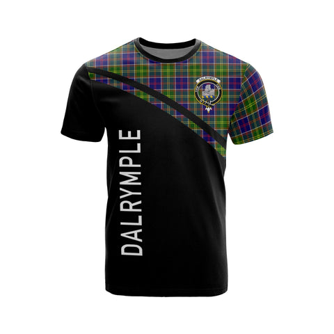 Dalrymple Tartan All Over T-Shirt - Curve Style