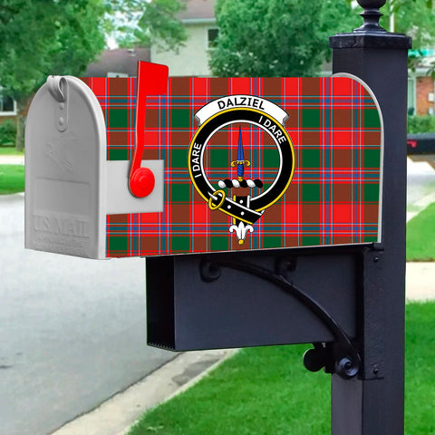 Image of ScottishShop Dalziel MailBox - Tartan  MailBox Cover