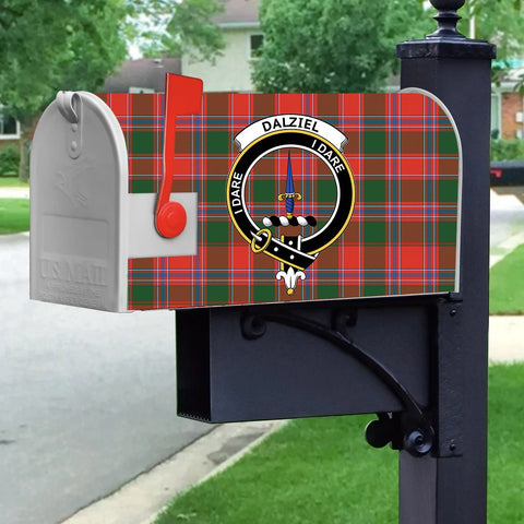 ScottishShop Mailbox Cover - Dalziel Tartan Mailbox (Custom)