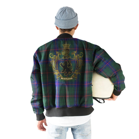 Davidson Tartan Bomber Jacket | Scottish Jacket | Scotland Clothing