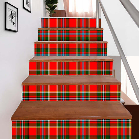 Scottishshop Tartan Stair Stickers - Drummond Stair Stickers - NAC