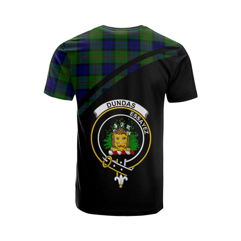 Dundas Tartan All Over T-Shirt - Curve Style