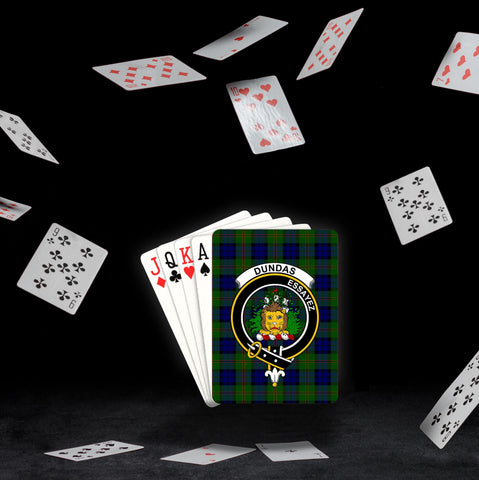 ScottishShop Dundas Playing Card - Tartan Playing Card Royal Style
