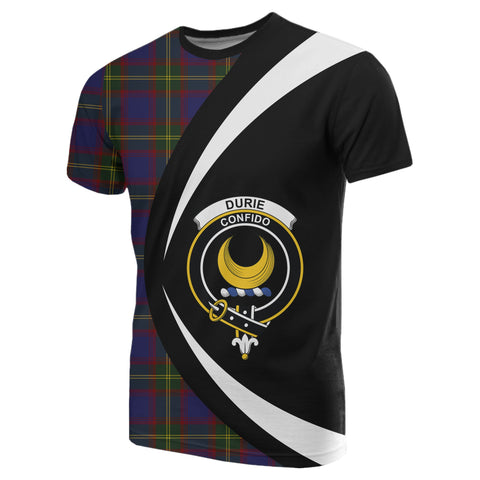 Image of Durie Tartan T-shirt Circle