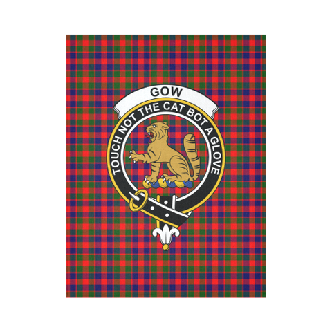Image of Gow Of Mcgouan Tartan Tapestry Clan Crest