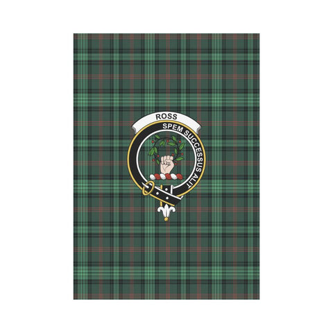 Image of Garden Flag | Tartan Ross Hunting Modern Flag | 2 Sizes Clan Badge