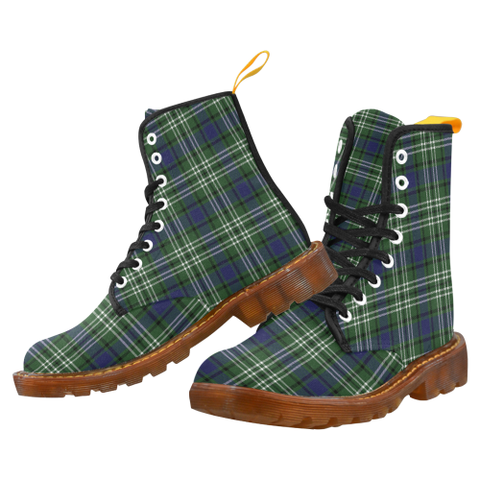 Image of Blyth Tartan Martin boots | Scotland Boots | Over 500 Tartans