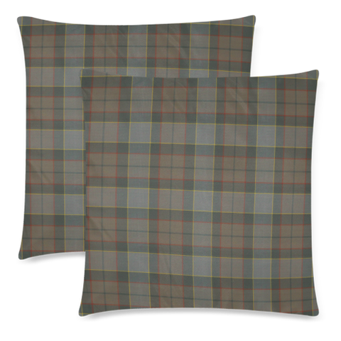 Outlander Fraser decorative pillow covers, Outlander Fraser tartan cushion covers, Outlander Fraser plaid pillow covers