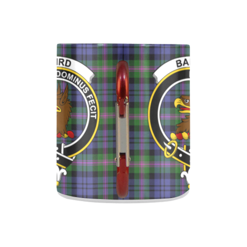 ScottishShop Insulated Mug - Baird Modern Tartan Insulated Mug - Clan Badge