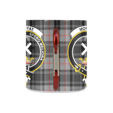 ScottishShop Insulated Mug - Moffat ModernTartan Insulated Mug - Clan Badge